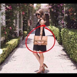 Express Nude Clutch Bag (NWT)